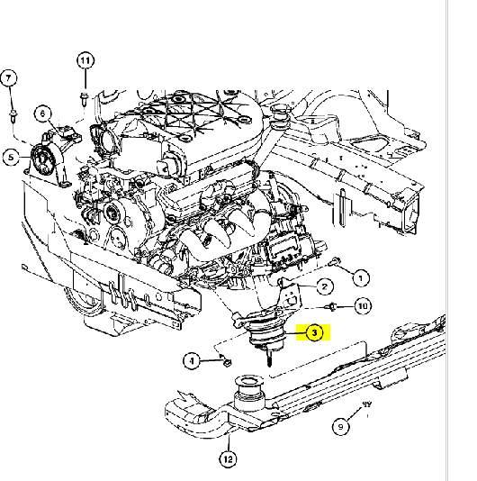 Опора двигателя передняя и задняя артикул -