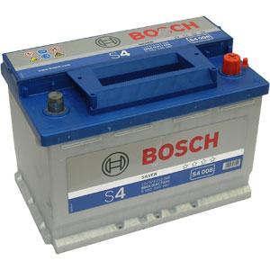 купить аккумулятр BOSCH S4 Silver/12V S4 008 по лучшей цене в интернет магазине Академия Плюс