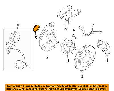 15720397 GM<br>Манжета передней ступицы колеса