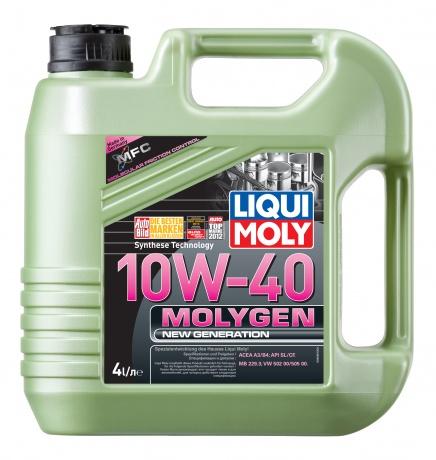 купить шины LIQUI MOLY Molygen New Generation  SAE 10W-40 по лучшей цене в интернет магазине Академия Плюс