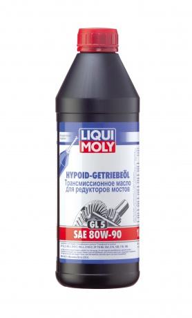 купить шины LIQUI MOLY Hypoid-Getriebeoil SAE 80W-90 по лучшей цене в интернет магазине Академия Плюс